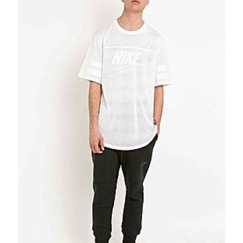 ASOS Fashion Finder | Nike Knows Franchise Airtex Mesh Jersey Tee in White