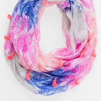JAYLIN FEATHER LOOP SCARF