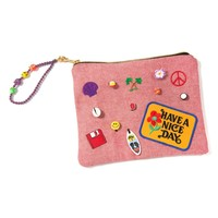 Venessa Arizaga 'Nice Day' Embellished Pouch | Nordstrom