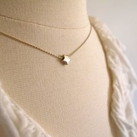 Small Sterling Silver Star Charm on Sterling by amorevalkyrie