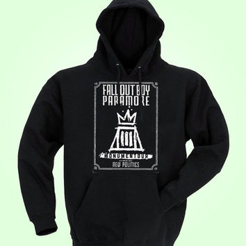 fall out boy, paramore design for men hoodie, women hoodie, sweatshirt, Long sleeved