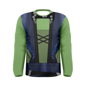 Men's Gamora Guardians of the Galaxy Inspired Long Sleeve Shirt