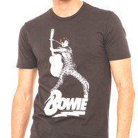 Bowie Faded Black T-shirt by Chaser