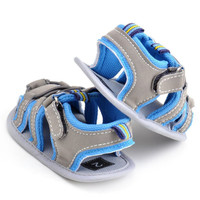 0-18M  Baby Shoes Casual Sandals Shoes Casual Sandals Anti-slip Hollow Air sport Sandals Boys Shoes