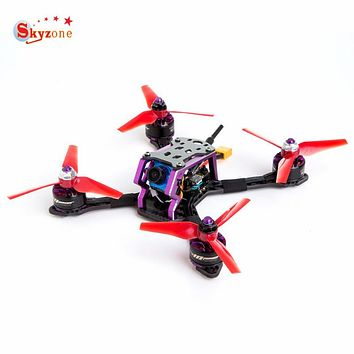 Skyzone S140 140mm RC FPV Racing Drone PNP W/ F3 OSD 4in1 20A 2-4S Dshot ESC 5.8G 48CH VTX Foxeer Micro Cam Prop VS Emax Diatone