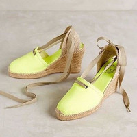Anthropologie Penelope Chilvers Espadrille Wedges Sz 38, Retailed for $235 - NIB