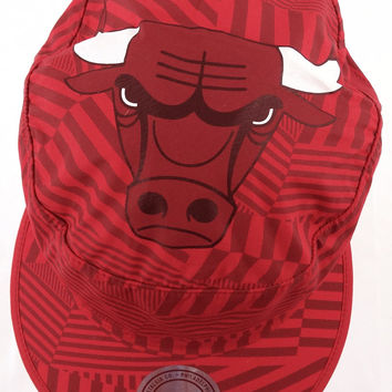 Chicago Bulls 2016 Mitchell & Ness Snapback Free Form Cap Hat
