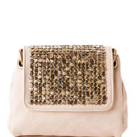 Brooklyn Stud Pouch Crossbody                       - Francescas