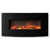 Muskoka® Urbana Curved Wall Mount Electric Fireplace