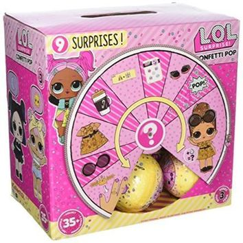 LOL Series 3 Confetti Pop - Full Case of 18 - LOL Little Outrageous Little Doll AUTHENTIC