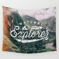 Explorer Wall Tapestry by Seaside Spirit