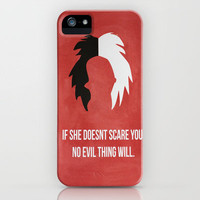 Disney Villain - Cruella De Vil iPhone Case by Tessa Simpson | Society6