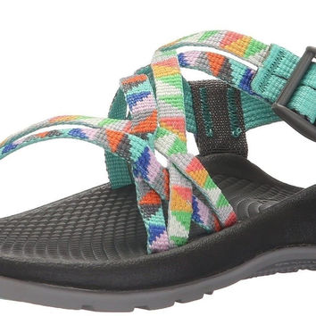 Chaco ZX1 Ecotread Sandal (Toddler/Little Kid/Big Kid) Crest Citrus