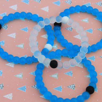 New Lokai Bracelet white / Blue lokai bracelet fashion bangle bracelet S, M, L