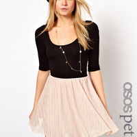 ASOS PETITE Exclusive 2in1 Skater Mini Dress