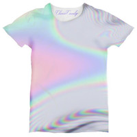 Hologram Printed Relaxed T shirt