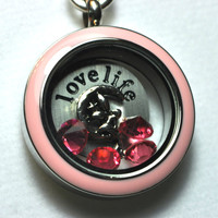 Light Pink Moon Fair Locket Look - Fairy Sitting on the Moon