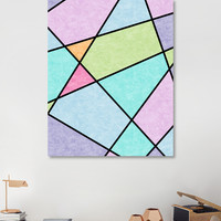 «Frosted pastel», Numbered Edition Canvas Print by eDrawings38 - From $49 - Curioos