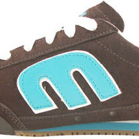 Etnies Low-Max Brown/Blue Women's Shoe | Blackhole Boards
