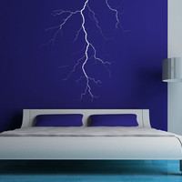 Lightning - Vinyl Wall Art Decal