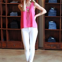 High Rise Skinny Denim-DL 1961 Florence Instasculpt High Rise Skinny-Milk-$178.00 | Hand In Pocket Boutique