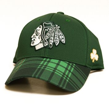 Chicago Blackhawks 2016 Reebok St. Patrick's Day Flex Fit Hat