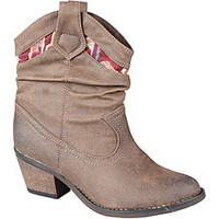 Refresh by Beston Women's 'Makay-01' Brown Cowgirl Boots | Overstock.com