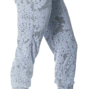 Jacquard Cuff Pant (avail. in two colors)