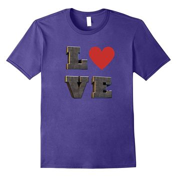 Valentine's Day Love Heart Funny Gift T-Shirt Romance