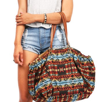 Aztec Hobo Bag - Over Night Bags at Pinkice.com