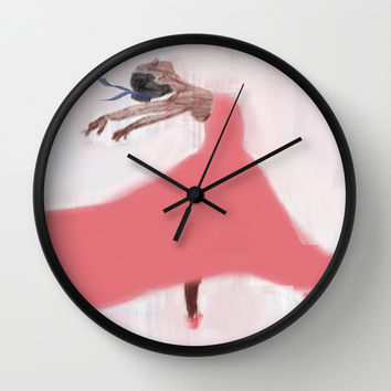 The Dancer Wall Clock by LBH Dezines