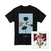 bloom Album + Rose T-Shirt [Black]