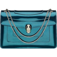 BVLGARI - Serpenti Forever leather shoulder bag | Selfridges.com