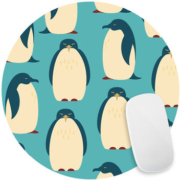 Happy Penguins Mouse Pad Decal