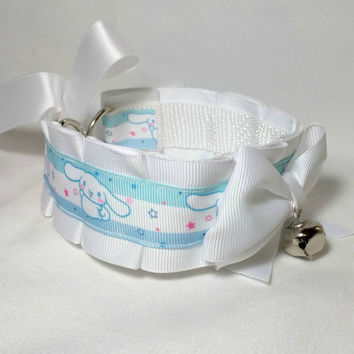 Cinnamoroll DDlg, Kitten Play, BDSM Collar by Kitten's Castle