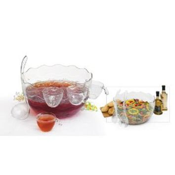 CreativeWare-16 Pc. Punch/Salad Bowl Set