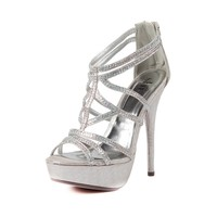 Womens Shi By Journeys Spice Heel in Silver | Shi by Journeys