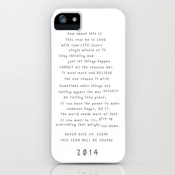 A guide for 2014  iPhone & iPod Case by Deadly Designer