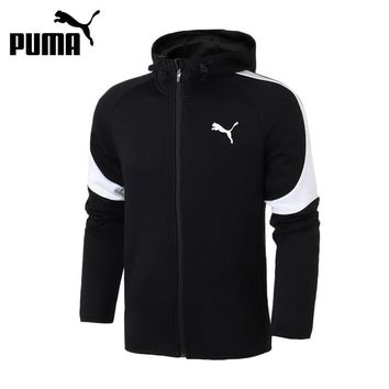 Original New Arrival 2018 PUMA Evostripe Core FZ Hoody Men's jacket Hooded Sportswear