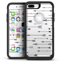 Vector Black Arrows - iPhone 7 or 7 Plus Commuter Case Skin Kit