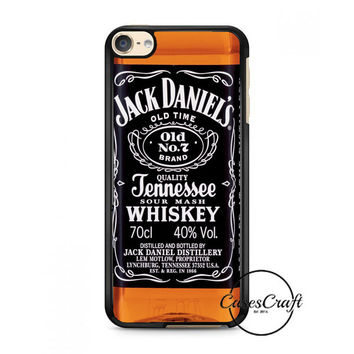 Jack Daniels Black Label iPod Touch 6 Case