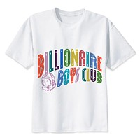 Billionaire Boys T Shirt men boy Summer O Neck white youth t shirt casual white print anime t-Shirts men top tees