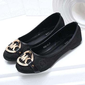 MK Michael Kors Women Fashion Casual Flats Shoes