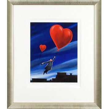 Adventure - Limited Edition Giclee on Hahnemuhle Paper by Berit Kruger-Johnsen