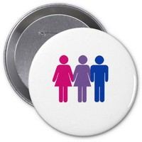Bisexual Girl Pins from Zazzle.com