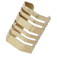 Hexagon Cut Out Cuff - View All - Jewellery  - Bags & Accessories