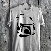 Boba Fett Black Tee - zzzF Unisex Tees For Man And Woman / T-Shirts / Custom T-Shirts / Tee / T-Shirt