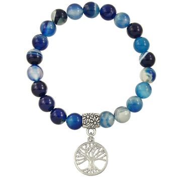 Angels, Inspiration and Miracles - Blue Agate