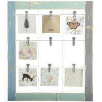 9-Clip Wall Photo Holder