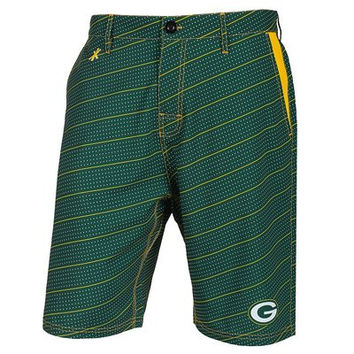 Green Bay Packers Official NFL Dots Walking Shorts